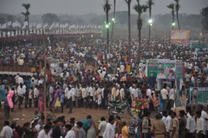 over one million converted in a single even Guntur-Christian-Conversion-Camp-Crowd