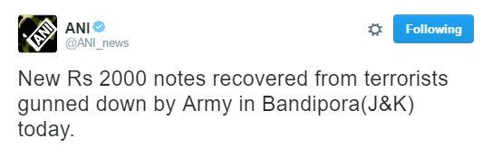 ANI's misleading tweet
