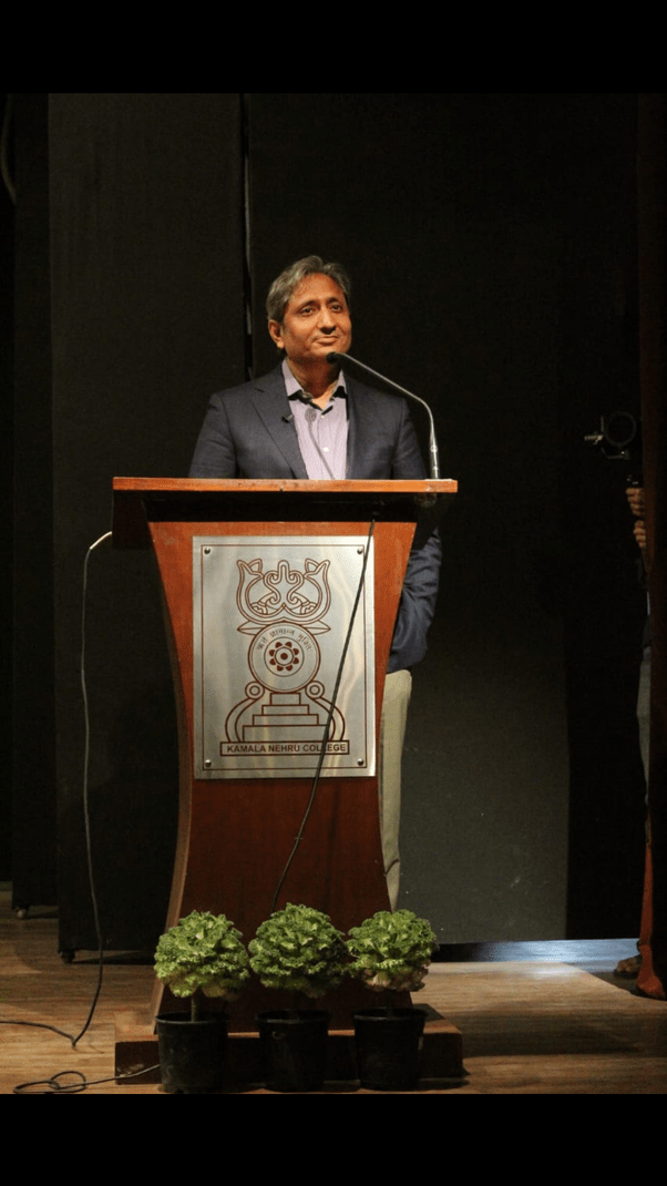 Why journalists like Ravish Kumar are despised so much!