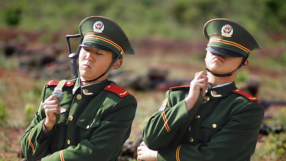 Do you think The Chinese Army is brave? Think again