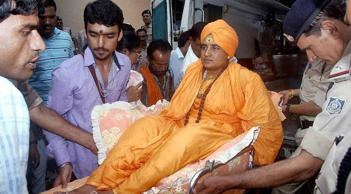 Sadhvi Pragya's utterances in the Indian context