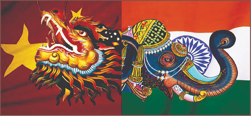 The nysteries of elephant-dragon dance