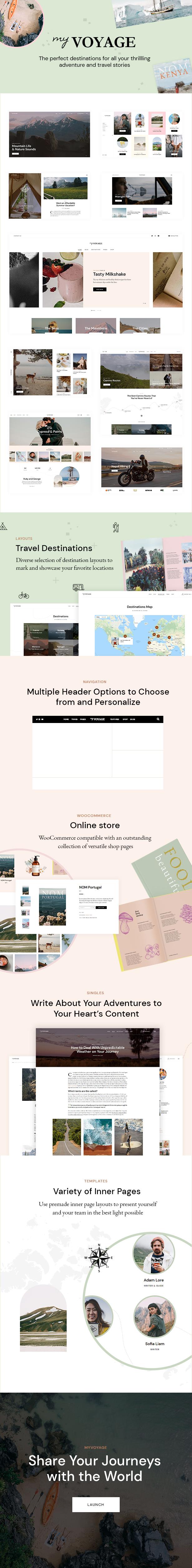 MyVoyage - Travel Blog WordPress Theme - 3