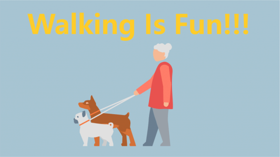 health benefits of walking (tips)