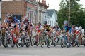 Competitors in the 2012 East Troy Cycling Classic race around the Village Square. The cycling series returns to the village Friday.