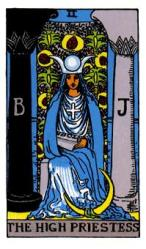 The High Priestess Tarot Card Meaning