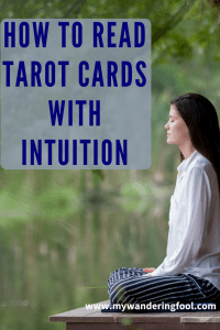 Read Tarot with intuition