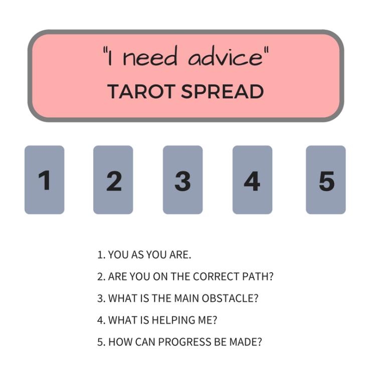 Advice Tarot Card Spread
