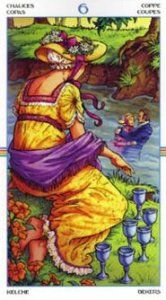 Six of cups - carefree innocence, good-will