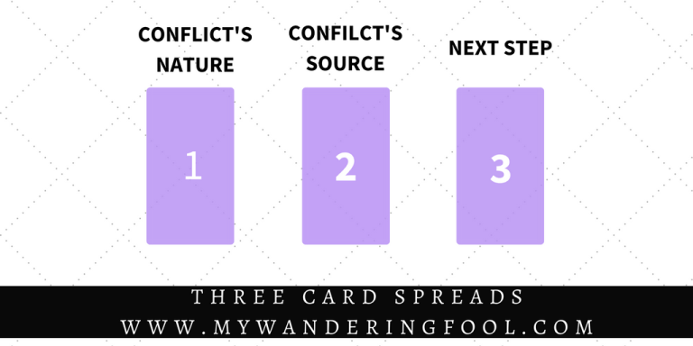 THREE CARD TAROT SPREADS