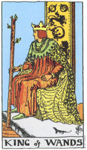 The King of Pentacles Rider Waite Tarot MyWanderingFool
