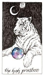 The High Priestess - The Wild Unknown Tarot