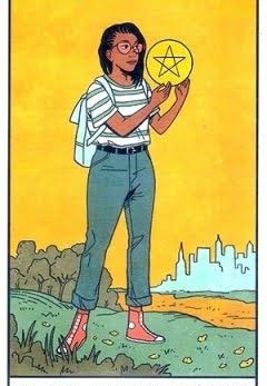 Page of Pentacles - Modern Witch Tarot