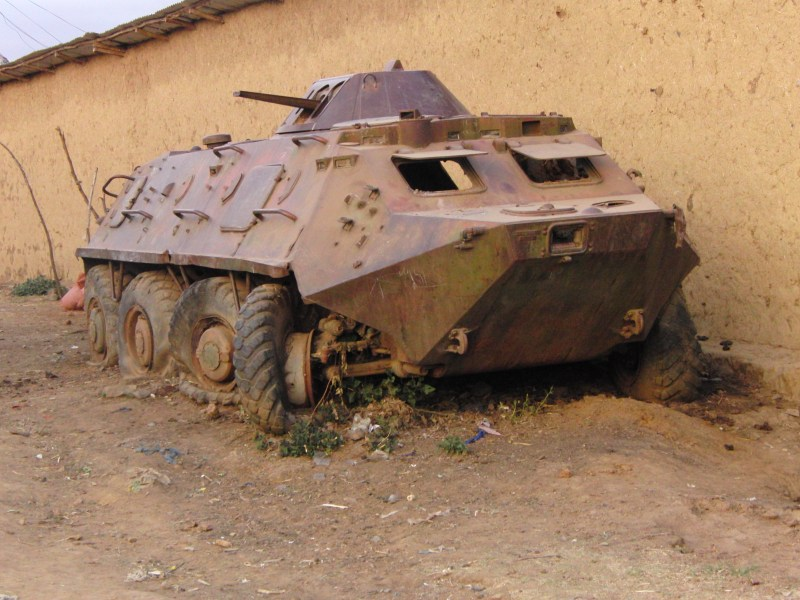 Ethiopie tank oorlog