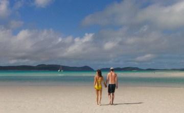 Australië whitsundays strand