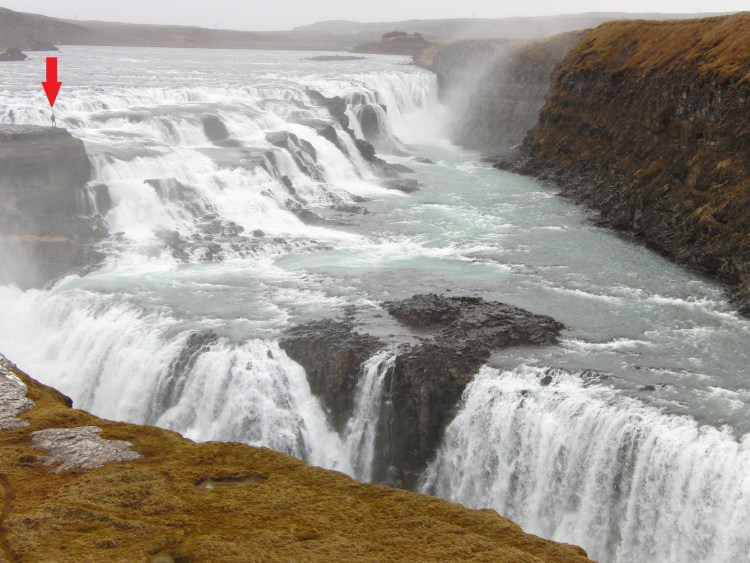 Gulfoss waterval IJsland