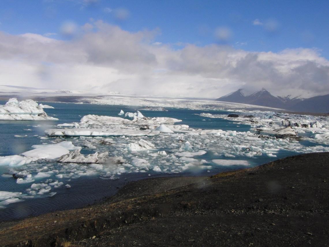 Gletsjer meer IJsland