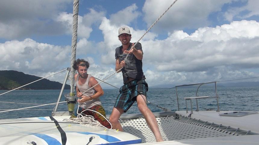 Whitsundays zeilen Great Barrier Reef Australië