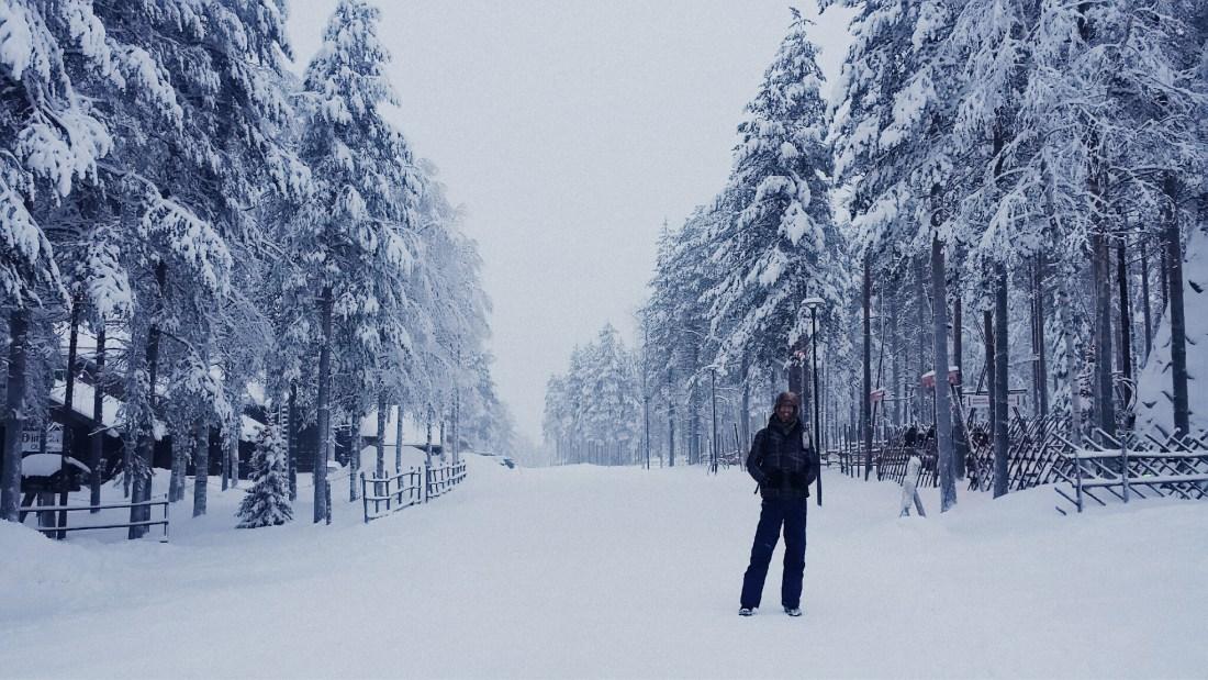 lapland poolcirkel sneeuw finland