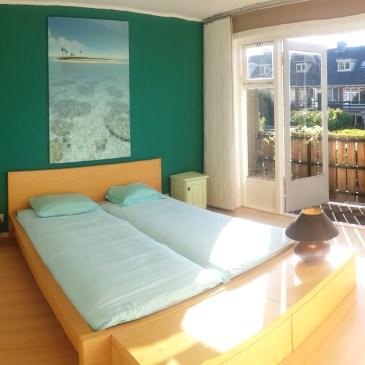Onze Airbnb kamer