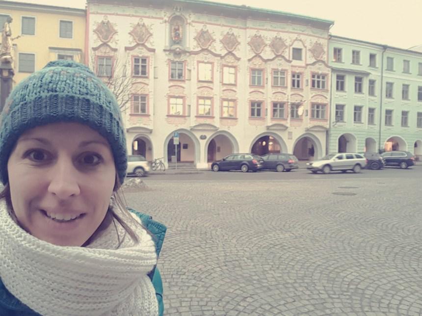 Het oude centrum van Wasserburg