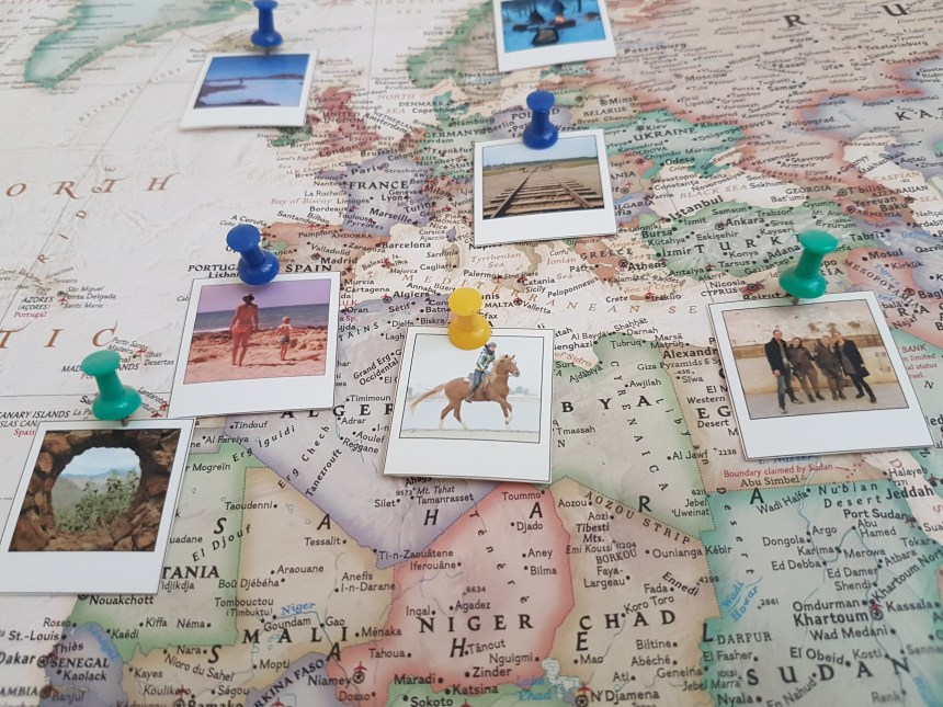 DIY wereldkaart voor wereldreizigers