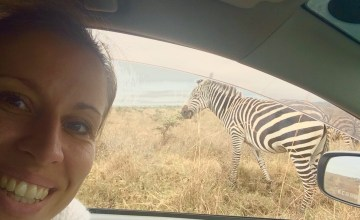 Internationale baan nairobi zebra