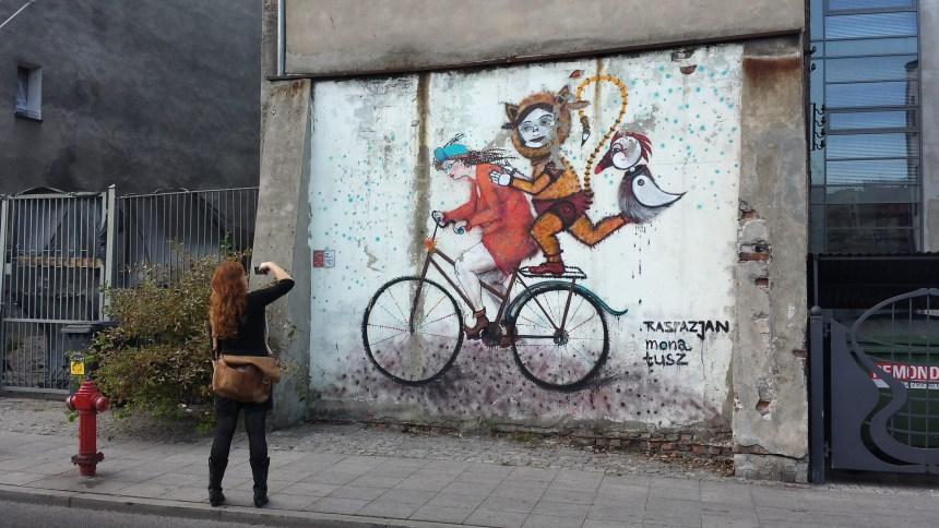 Streetart Polen