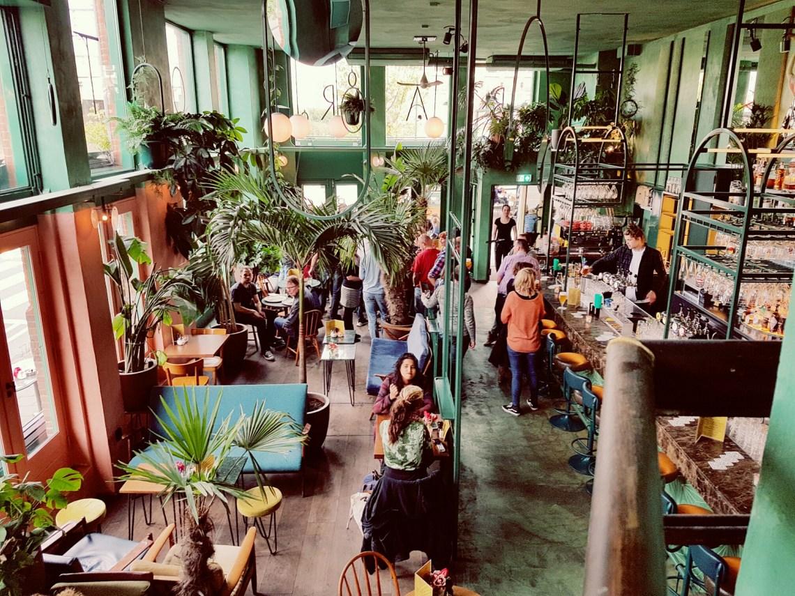 Wat een gave inrichting bij het Botanisch Cafe