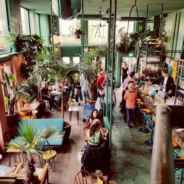 gave inrichting bij het Botanisch Cafe Amsterdam