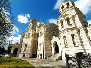 Oude gebouwen genoeg in Riga letland