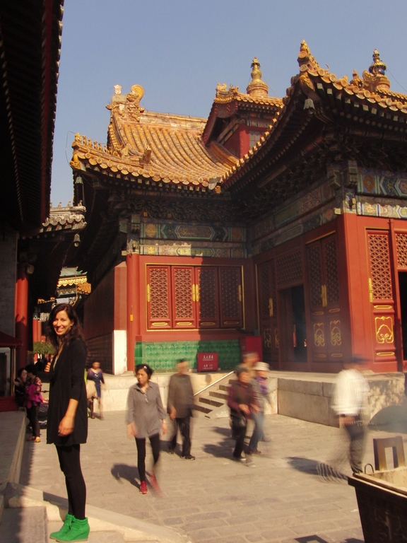 In de Lama tempel Beijing China