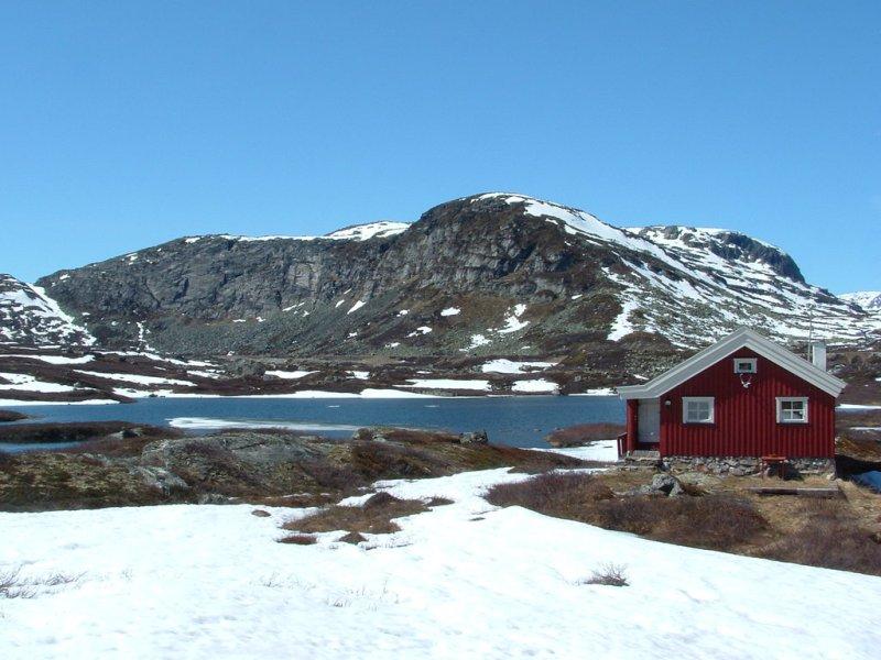Hardangerfidde plateau Noorwegen
