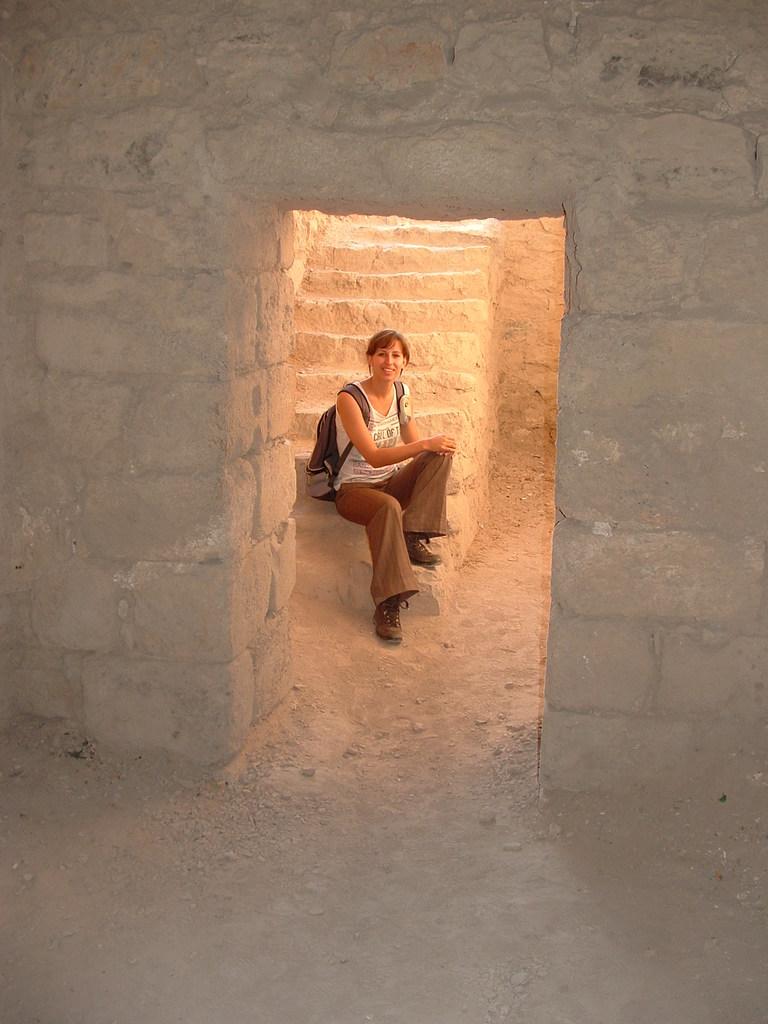 Kruisvaarderskasteel in Kerak Jordanië