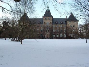 Alnarp slot in de winter Zweden