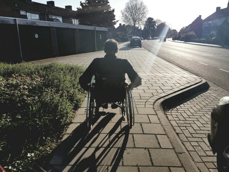 vrijwilligerswerk rolstoel