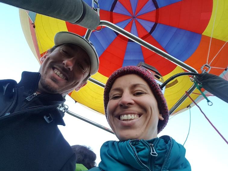 Lunchtballonvaart Drakensbergen Zuid Afrika