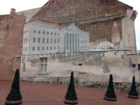 Streetart Riga Letland