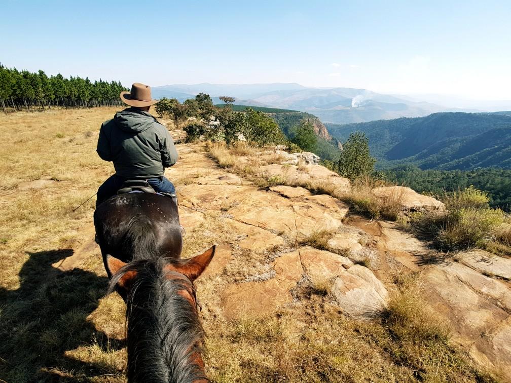Review; paardrijden Zuid Afrika (dagtochten)