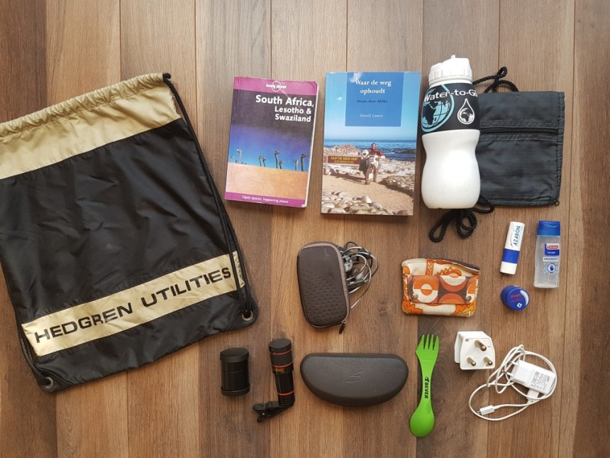 ultralight backpacking paklijst
