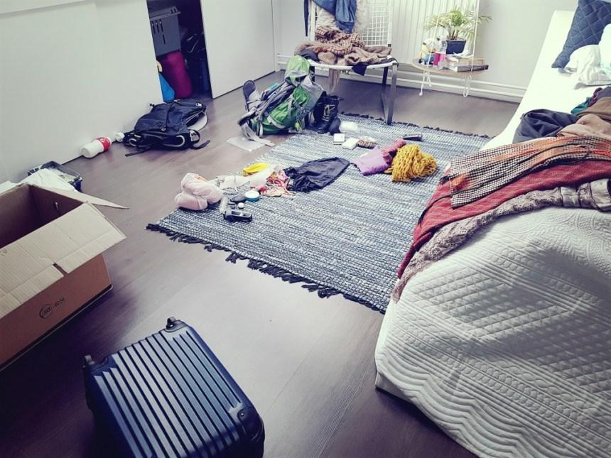 Chaos van de vakantie