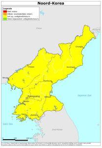 minbuza reisadvies Noord-Korea