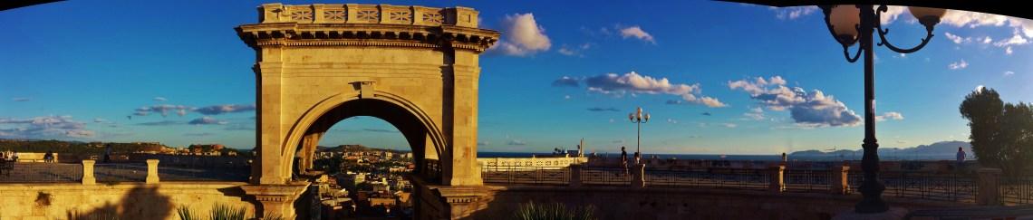 Saint Remy Bastion in Cagliari