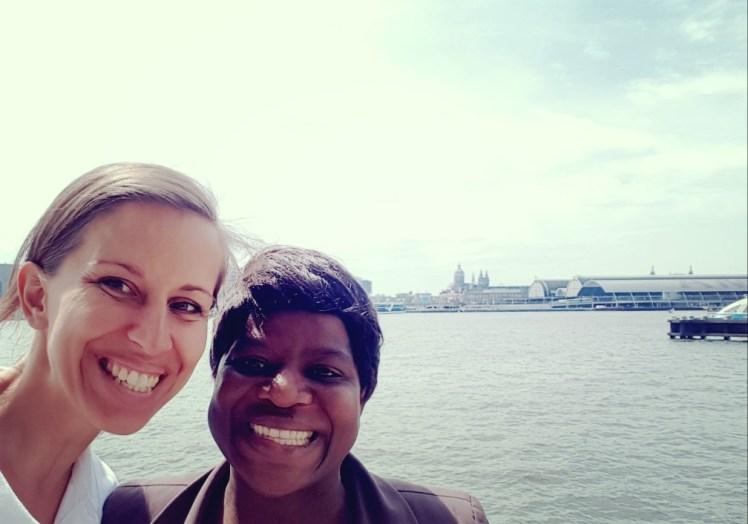 Een rondje Amsterdam met Zambia