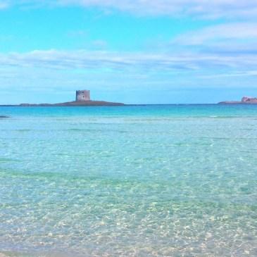 Spiaggia La Pelosa bij Stintino Sardinië
