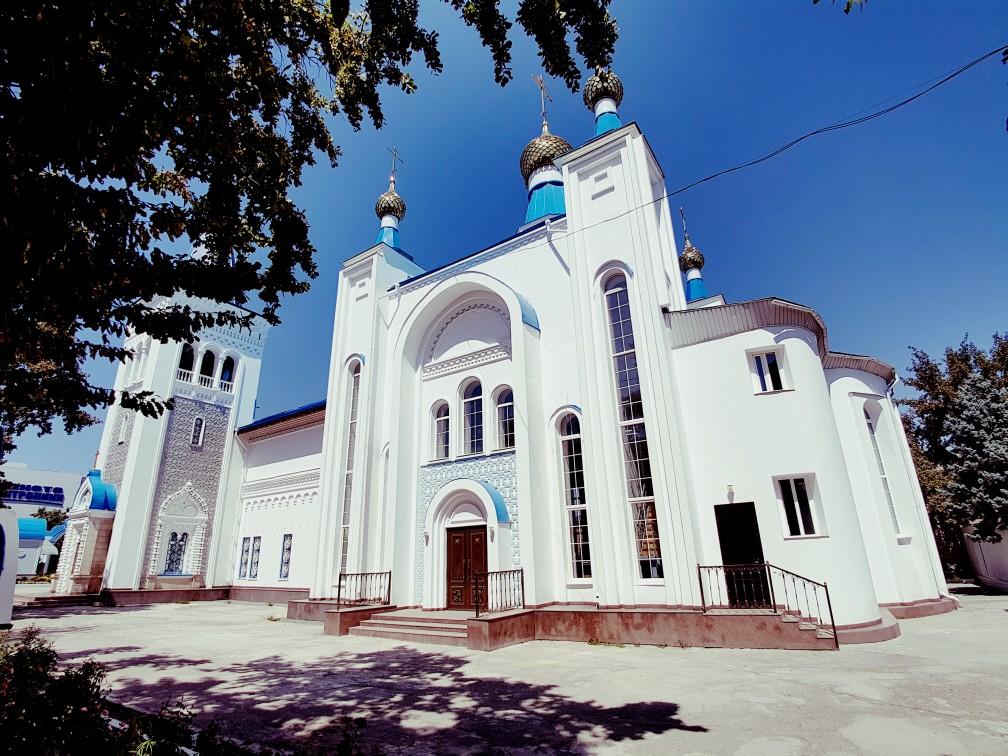 Russisch-orthodoxe kerk Bishkek Kirgizië