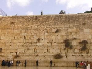 Klaagmuur Jeruzalem Israël