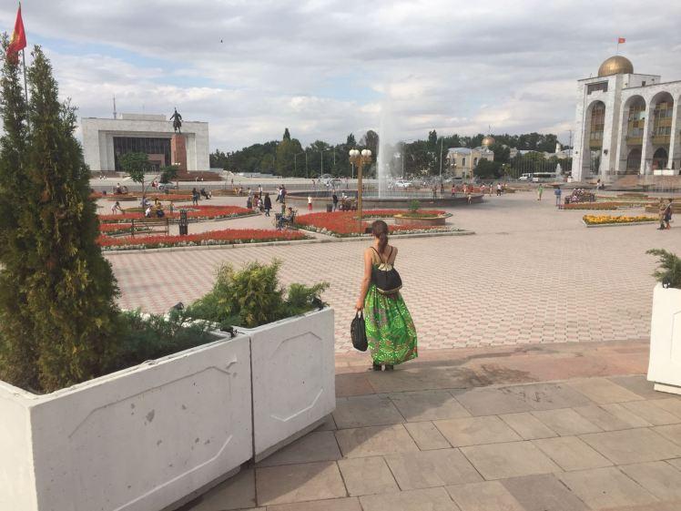 Ala too plein bishkek