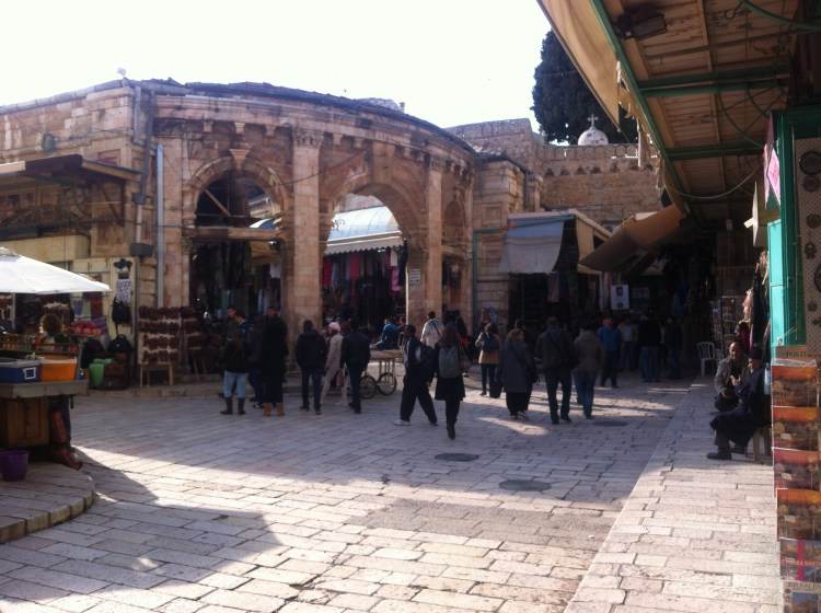Souk in Jeruzalem Israël