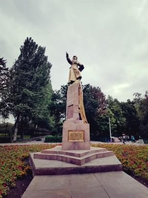 Panfilov in Panfilov Park Bishkek Kirgizië
